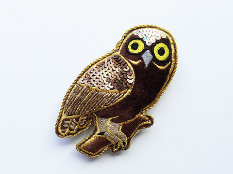 Morepork Owl Sparkle Decoration