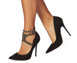 Shoe Chic - Rita Ankle Black w/ Stud