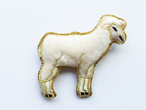 Sheep Sparkle Decoration