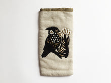 Tui Black Velvet Glasses Case