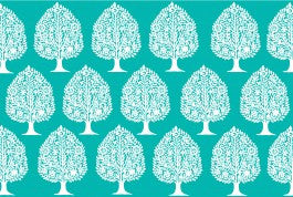 p PAD /  Turquoise - Tree of Life