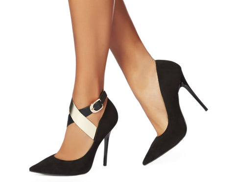 Shoe Chic - Carmen Wrap Gold Mirror