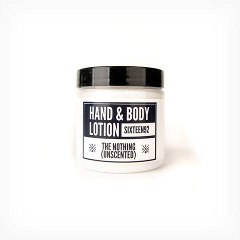 The Nothing - Unscented - Hand & Body Lotion