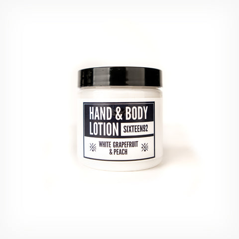 White Grapefruit & Peach - Hand & Body Lotion