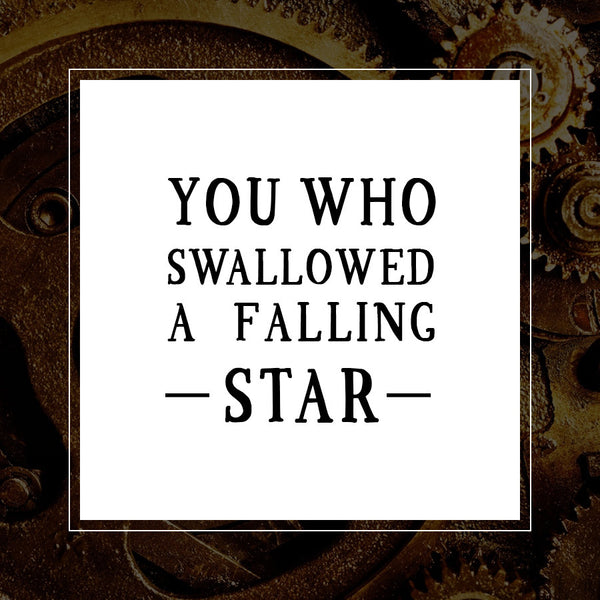 LIMITED RELEASE - You Who Swallowed A Falling Star
