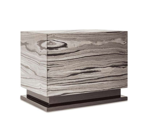 """Emotion"" Deluxe Box - Italian Lacquered Wood Cremation Urn - Modern Memorials"