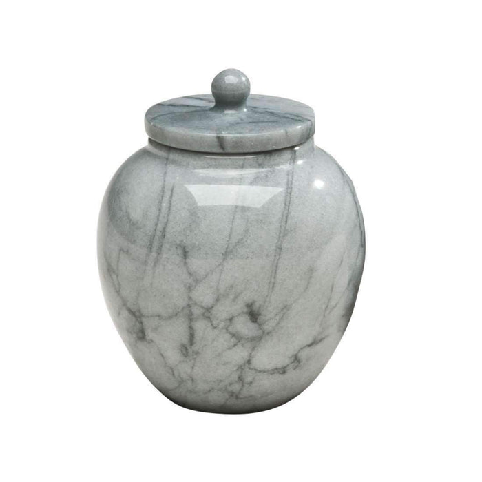 "Grey ""Legacy"" Marble Keepsake Cremation Urn Pet Urn Kelco"