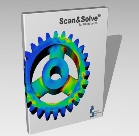 Scan&Solve™ 2014 for Rhino UPGRADE Commercial License