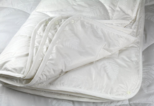 Ellis Fibre Alpaca four seasons duvet folded