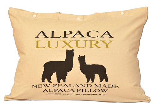 Ellis Fibre 50/50 Alpaca Luxury Pillow - MADE IN NZ