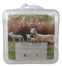 Wool Duvet Combo Arrowtown - 150 + 350gsm - Made in NZ