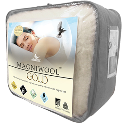 Ellis Fibre Magniwool GOLD - Magnetic Therapy Wool Underlay