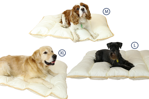 Ellis fibre Pet Bed Sizes