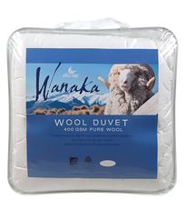 Wool Duvet Wanaka - 400gsm - MADE IN NZ