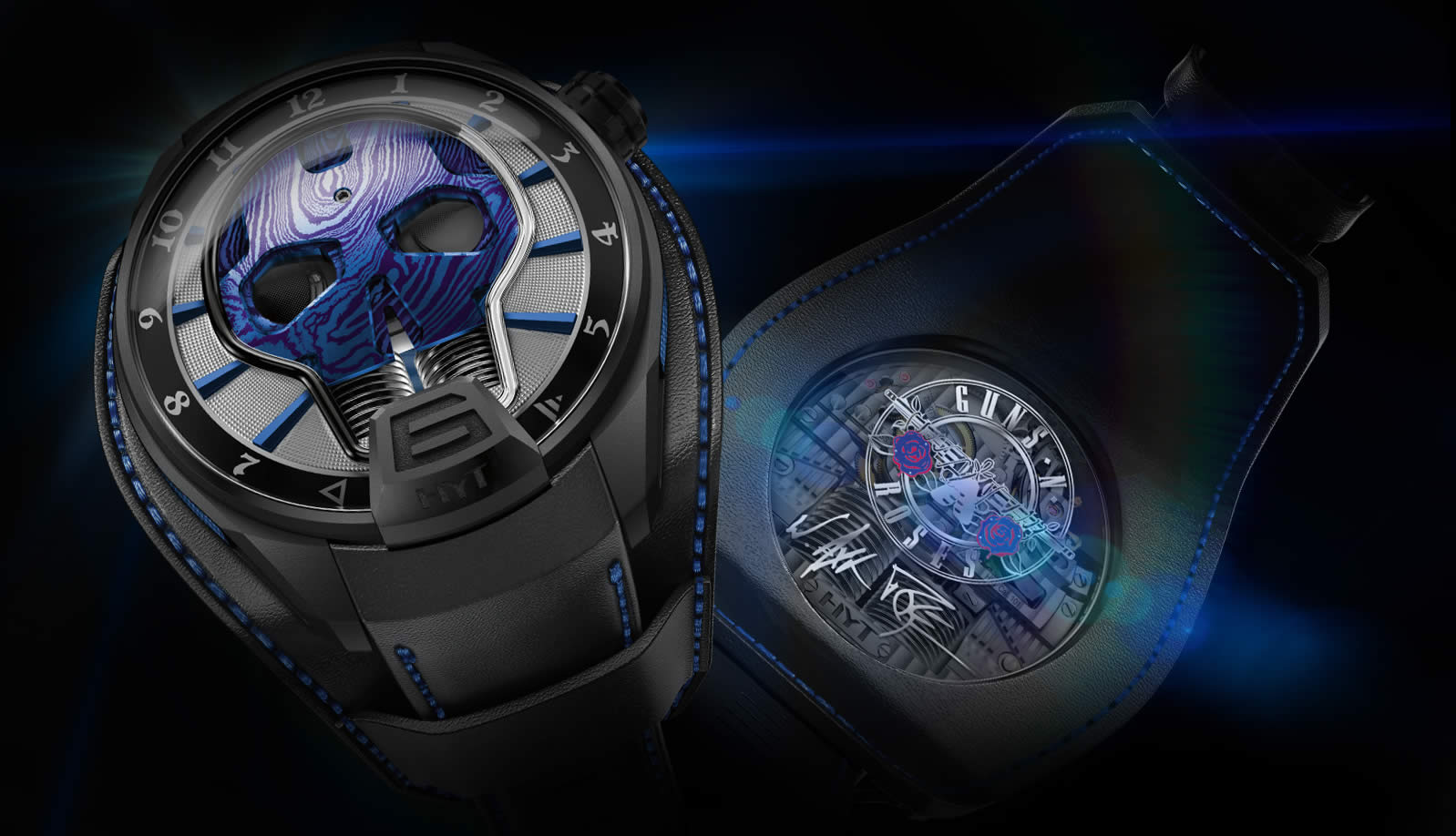 Luxury Watches HYT Skull Axl Rose Limited Edition