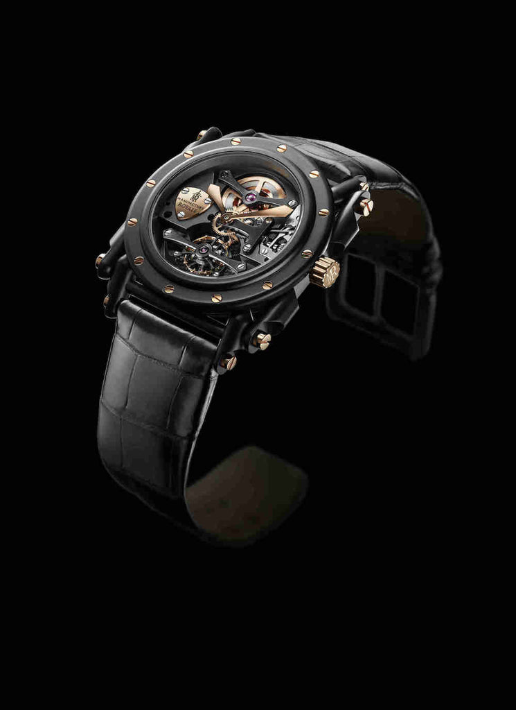 Manufacture Royale Androgyne Full Black & Rose Gold