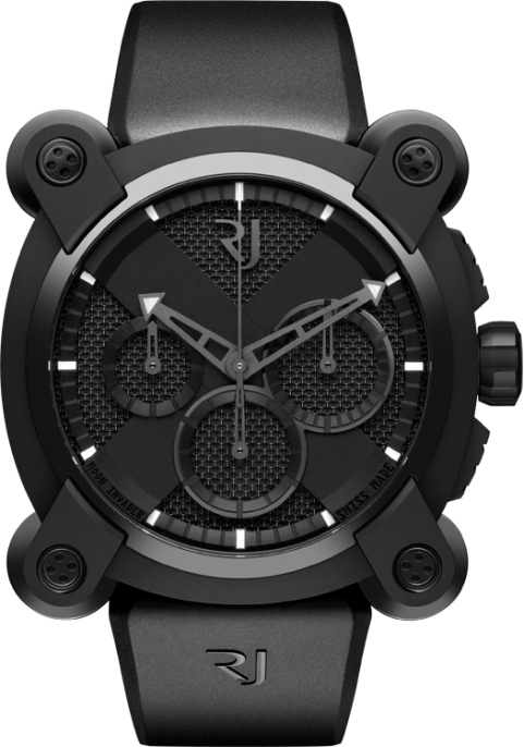 Romain Jerome Moon Invader Black Metal Chrono