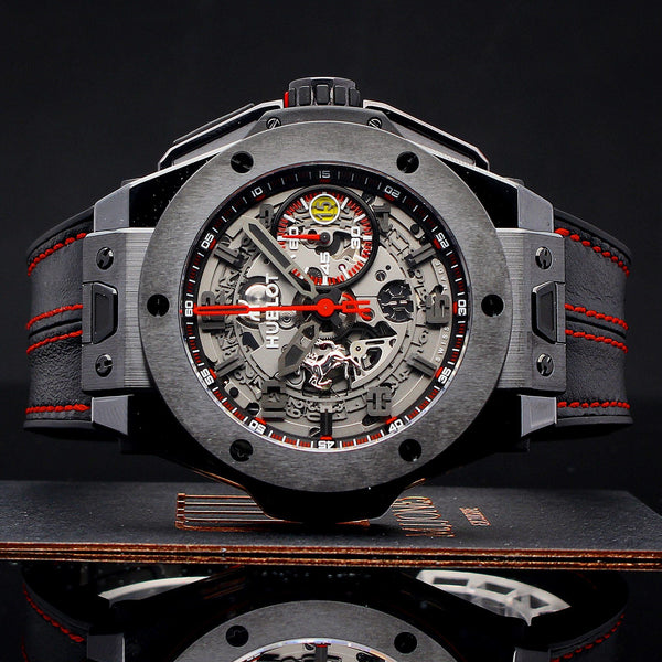 Watches - Hublot Big Bang Ferrari All Black