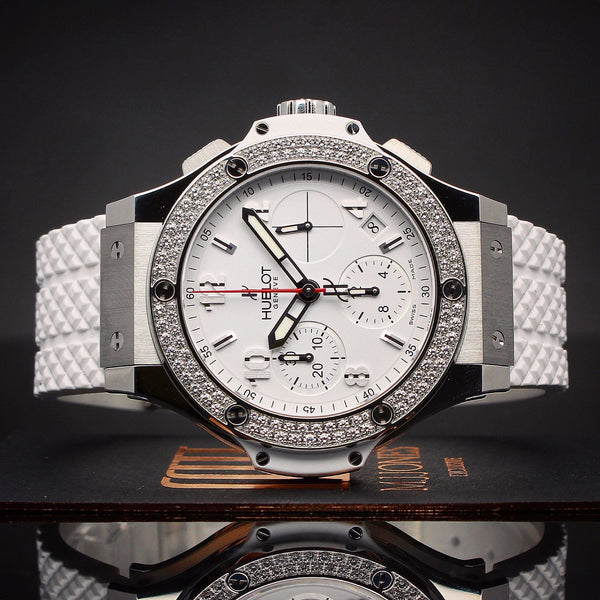 Watches - Hublot Big Bang Stainless Diamonds