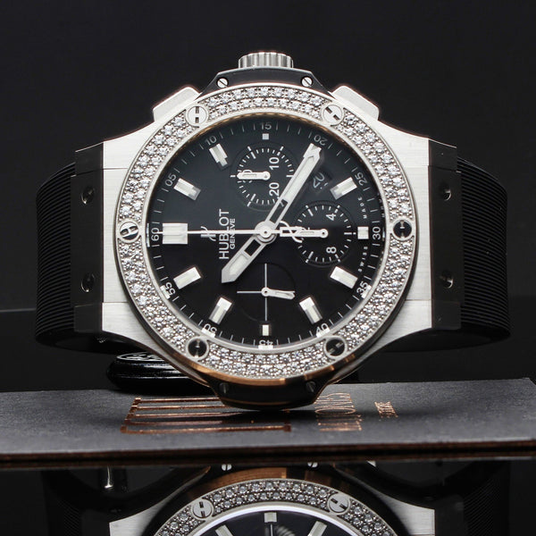 Watches - Hublot Big Bang Steel Diamonds