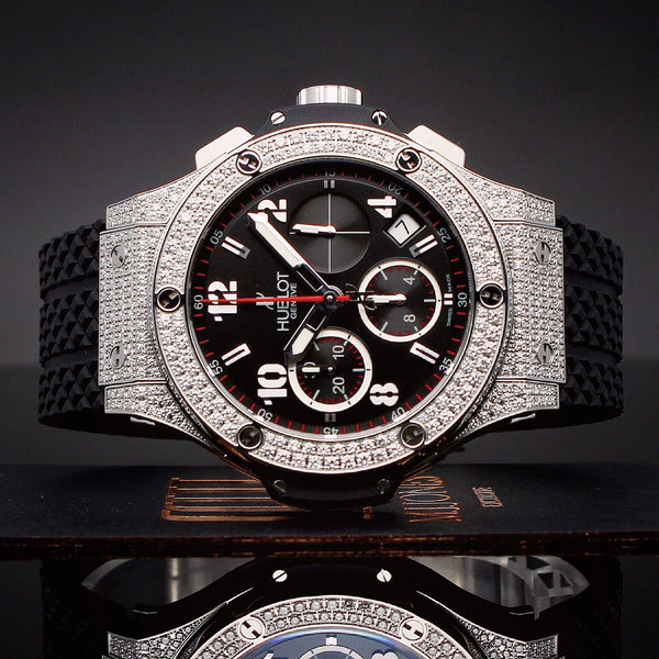 Watches - Hublot Big Bang Steel Pavé