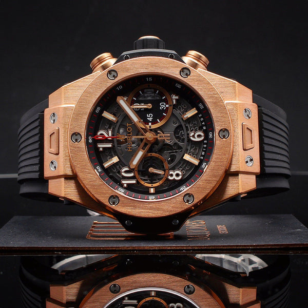 Watches - Hublot Big Bang Unico King Gold