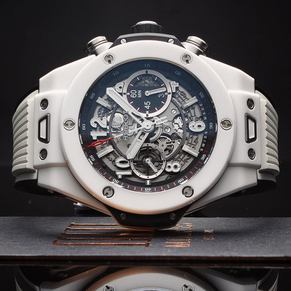 Watches - Hublot Big Bang Unico White Ceramic