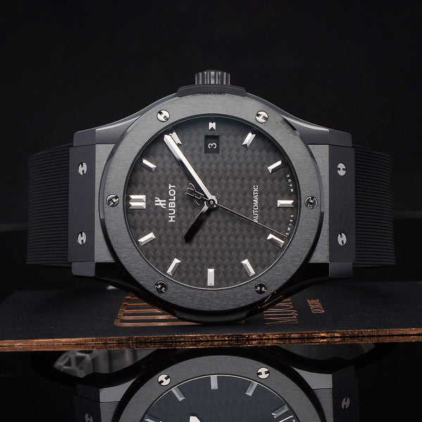 Watches - Hublot Classic Fusion Black Magic