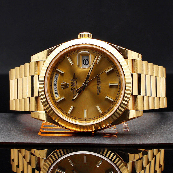 Watches - Rolex Day-Date 40 Yellow Gold