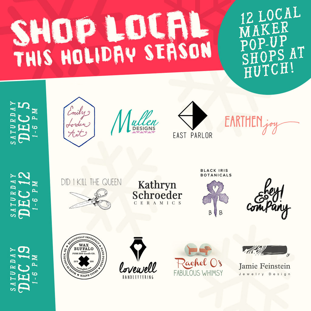 Shop local this holiday season at hutch!