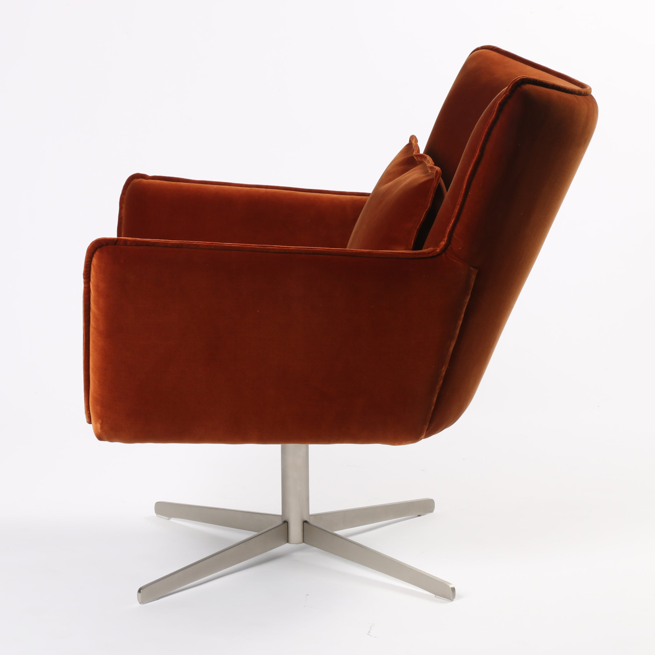 Groovy Four Hands Jacob Swivel Chair Hutch Modern Vintage And Evergreenethics Interior Chair Design Evergreenethicsorg