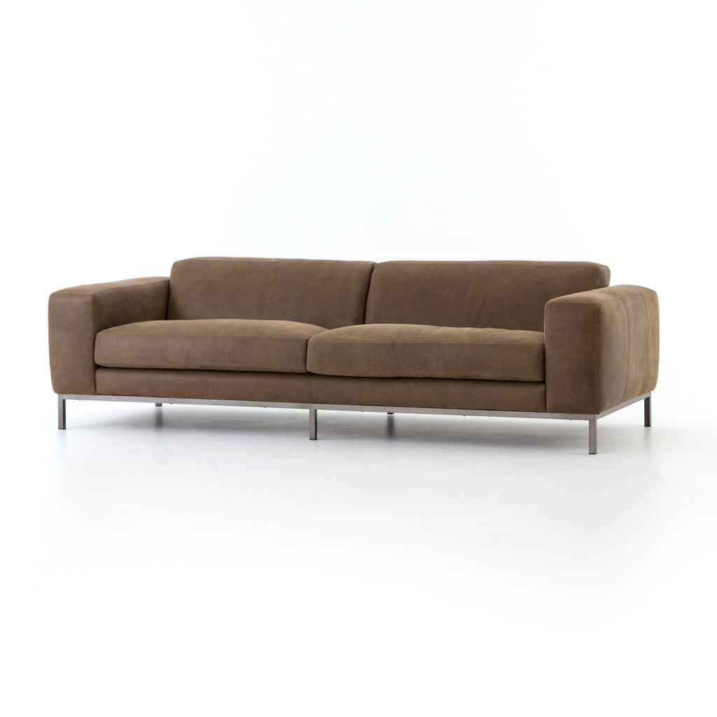 Four Hands Benedict Leather Sofa 96
