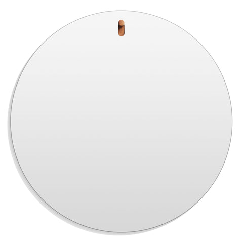 Blu Dot Hang 1 Large Round Mirror
