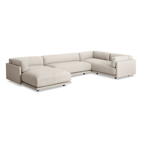Blu Dot Sunday L Sectional W/ Left Chaise