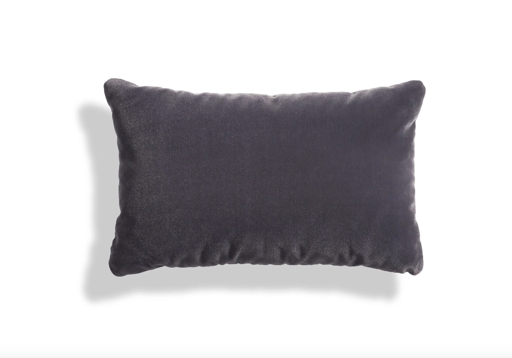Blu Dot Signal Velvet Lumbar Pillow