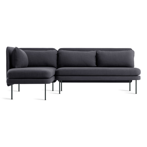 Bloke Armless Sofa with Left Arm Chaise