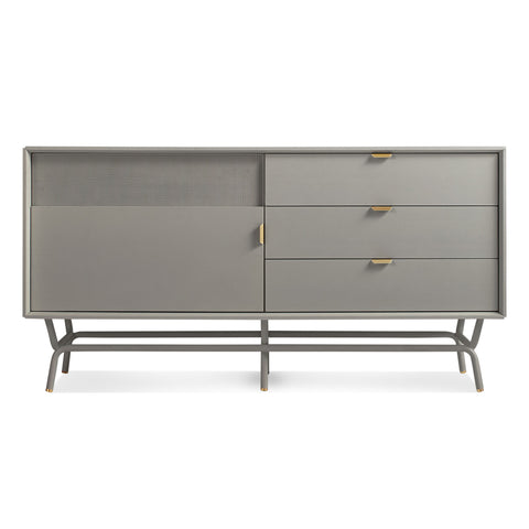 Blu Dot Dang 1 Door / 3 Drawer Console