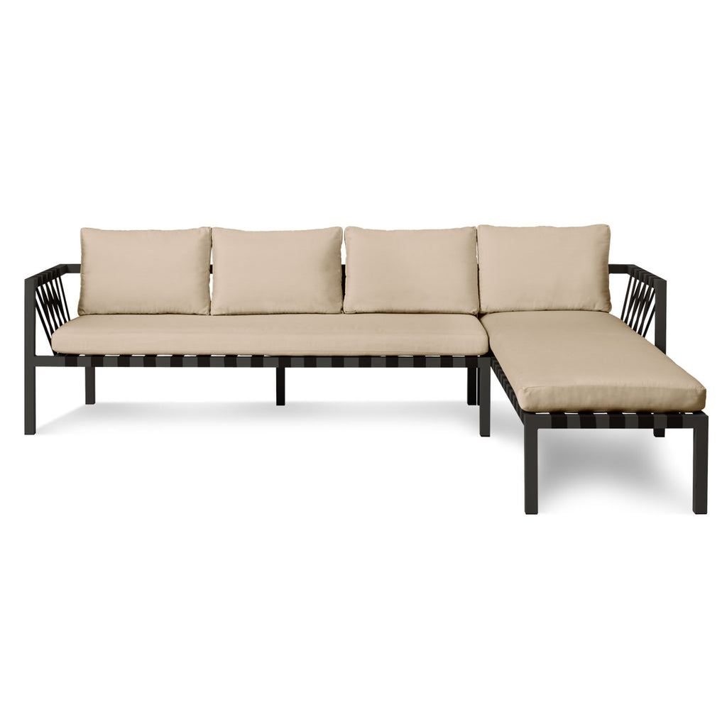 Blu Dot Jibe Outdoor Right Sectional Sofa