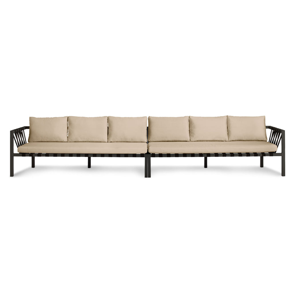 Blu Dot Jibe Outdoor Extra Long Sectional Sofa