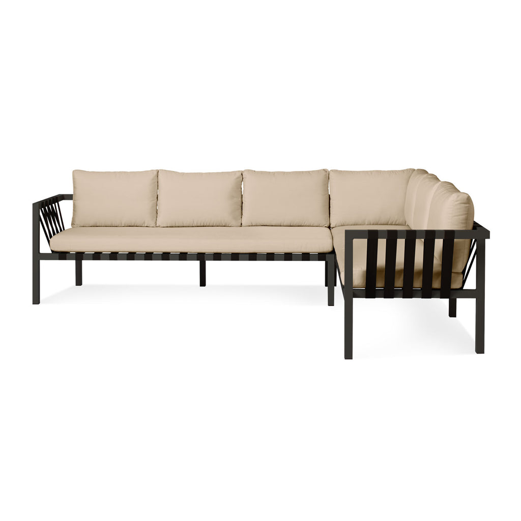 Blu Dot Jibe Outdoor XL Right Sectional Sofa