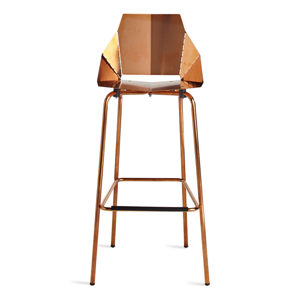 Blu Dot Real Good Barstool - Copper