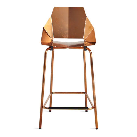 Blu Dot Real Good Counter Stool - Copper