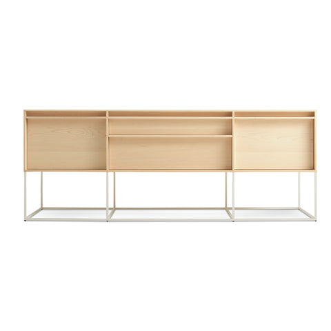 Blu Dot Rule 2 Door / 2 Drawer Console