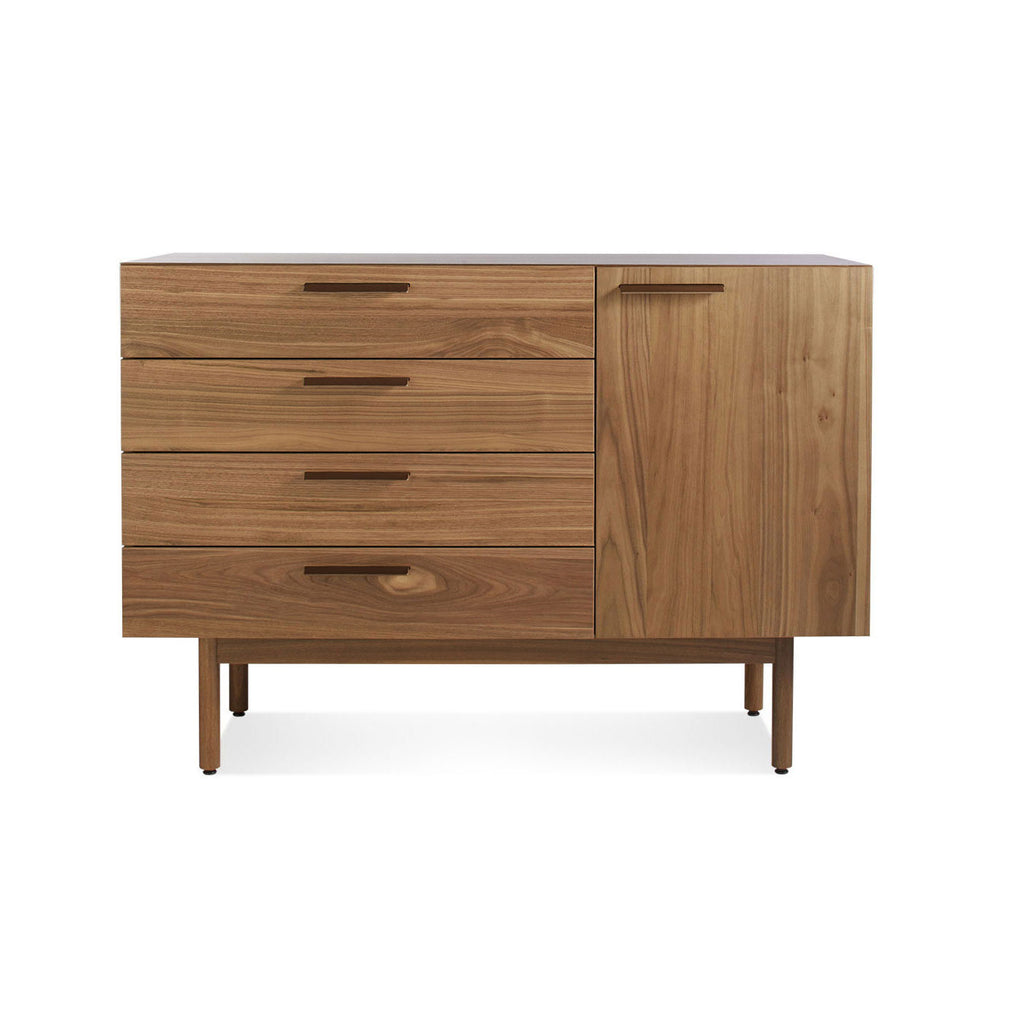 Blu Dot Shale 4 Drawer / 1 Door Credenza