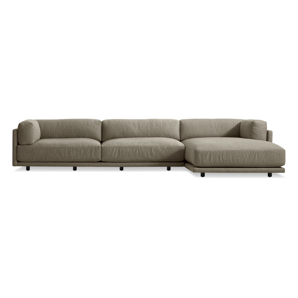 Blu Dot Sunday Sofa w/ Right Arm Chaise