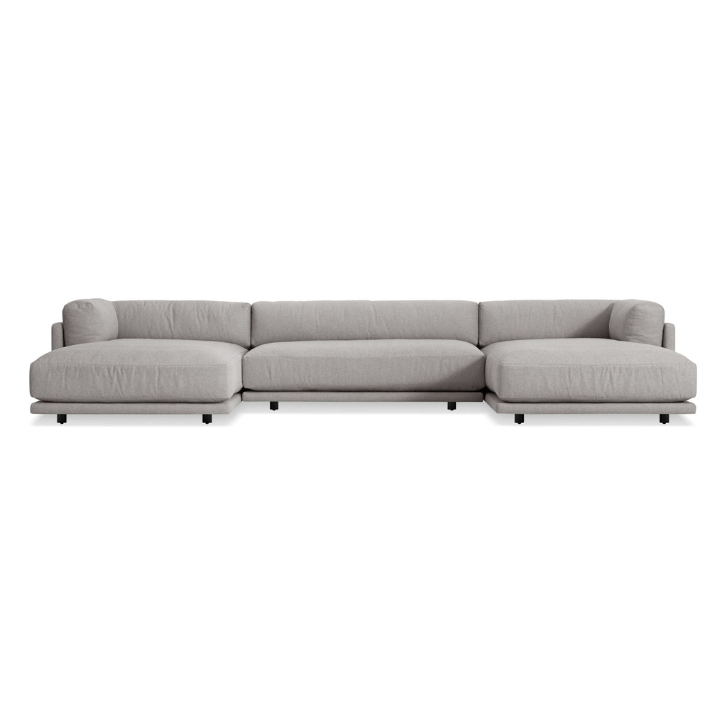 Blu Dot Sunday U-Shaped Sectional Sofa