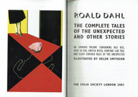 Complete Tales of the Unexpected by Roald Dahl [Folio]