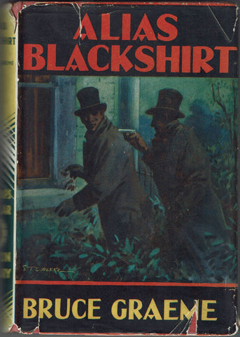 Alias Blackshirt by Bruce Graeme