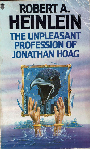The Unpleasant Profession of Jonathan Hoag by Robert A. Heinlein [unusual cover art]