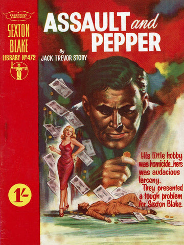 Assault and Pepper by Jack Trevor Story [Sexton Blake Library # 472]